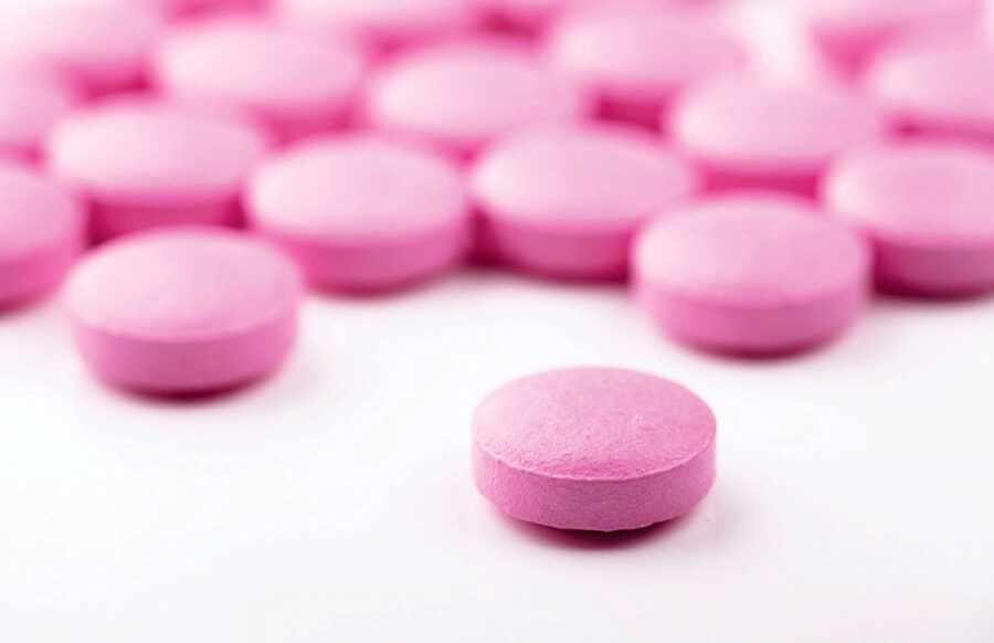 розовые таблетки