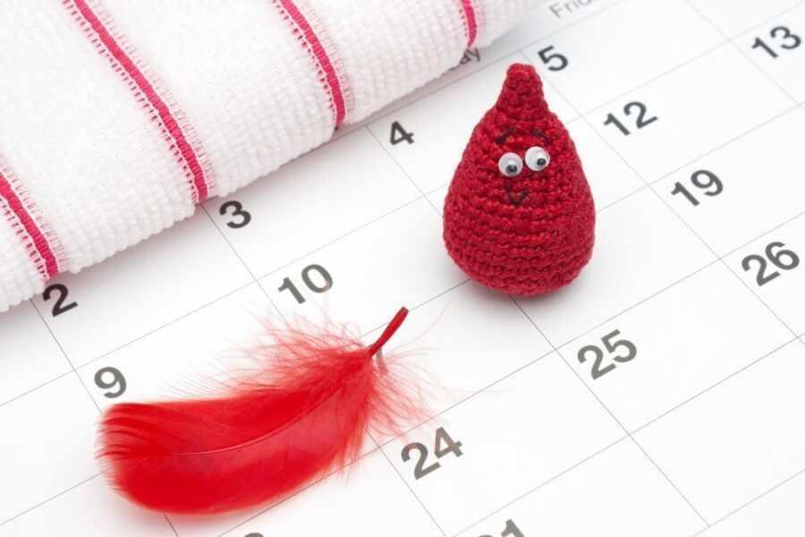 календарь с перышком