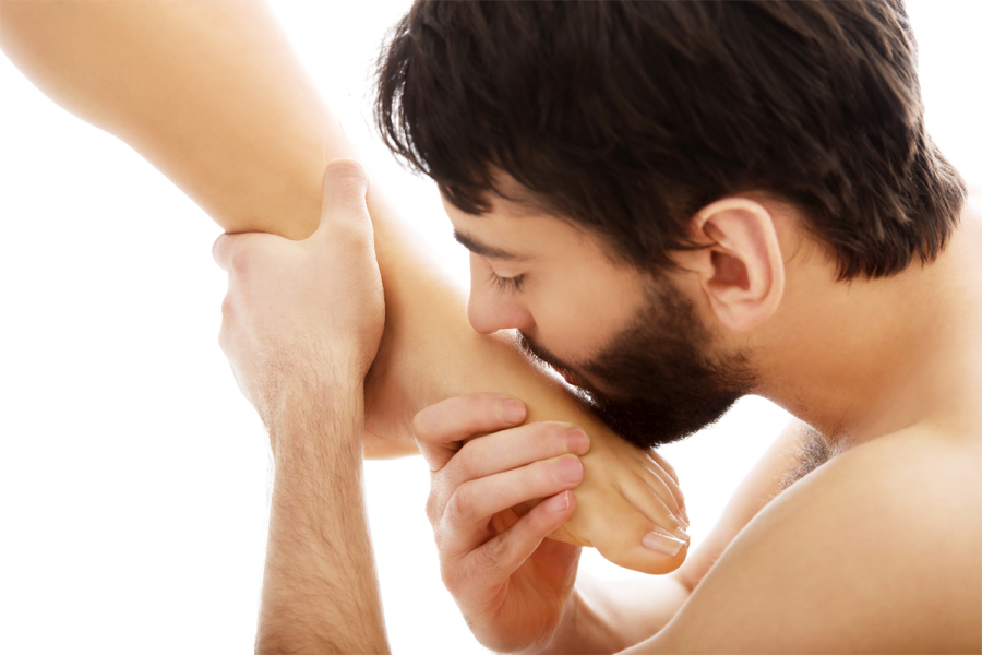 мужская любовь к ногам