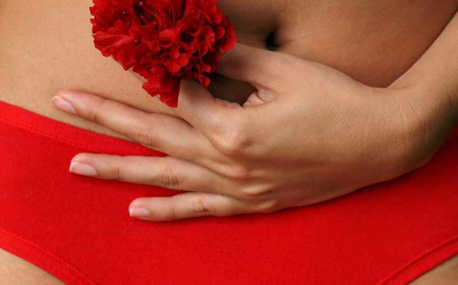 девушка с цветочком 2