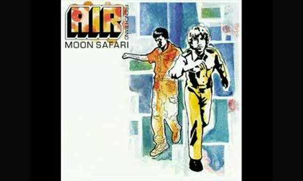 «La Femme d'Argent» – Air
