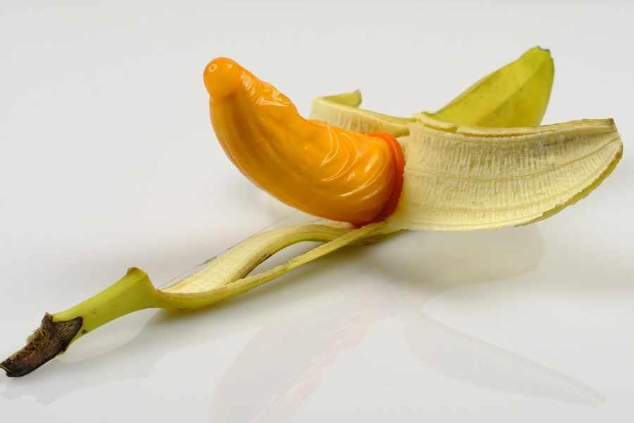 Секс в презервативе
