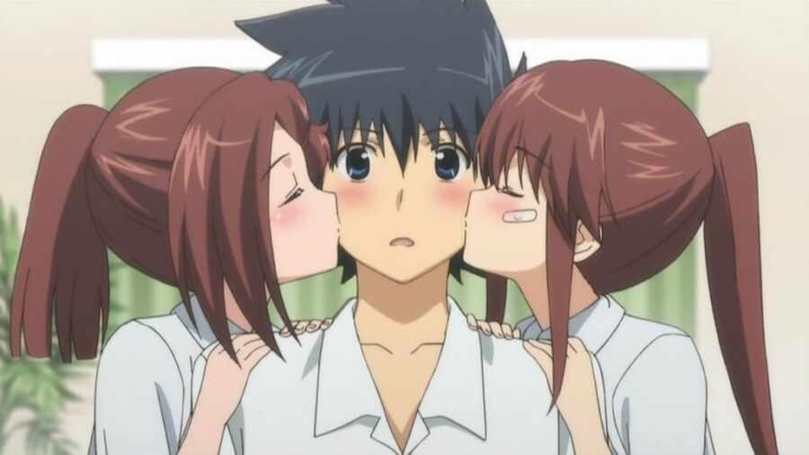 Поцелуй сестер / Kiss x Sis (2010)