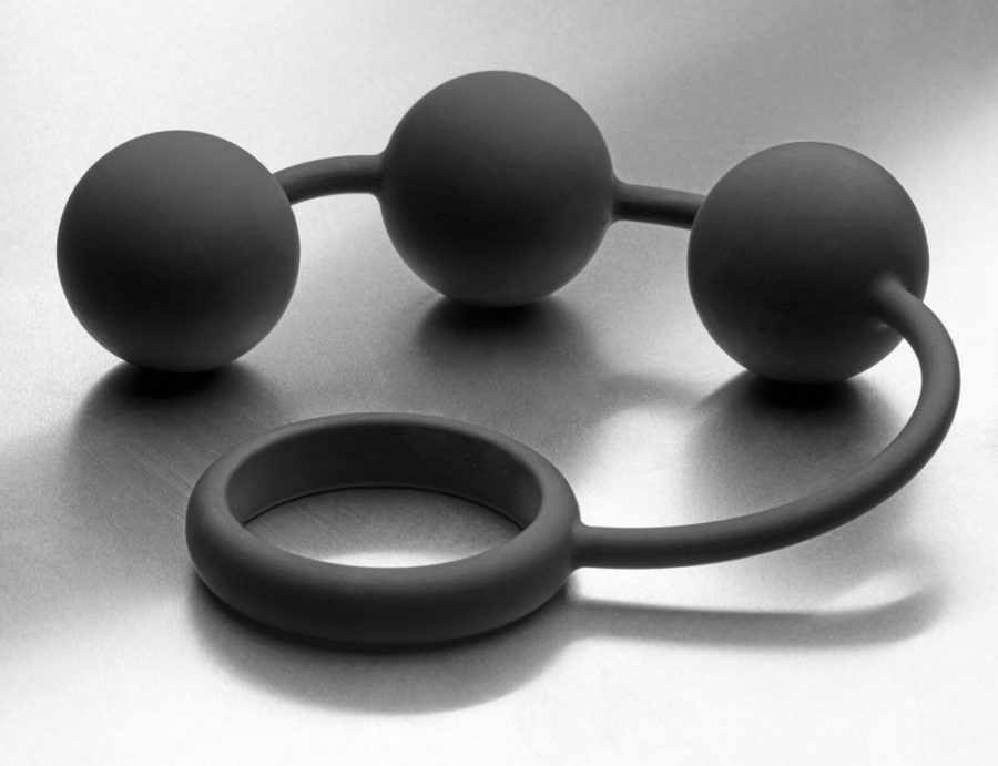 как использовать анальные шарики