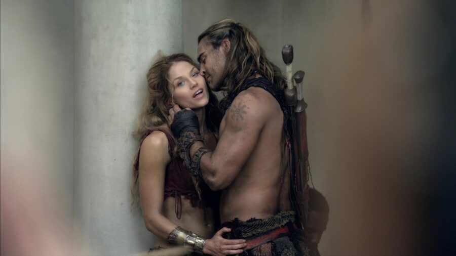 кадр из сериала Спартак