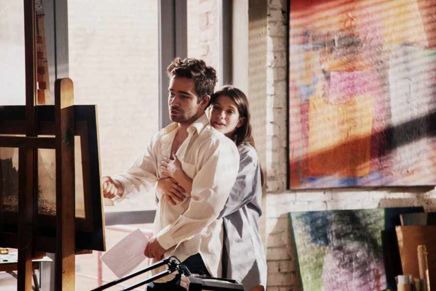 кадр из фильма Чистое искусство