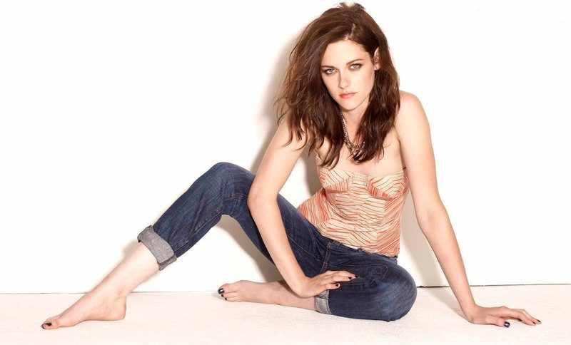 красивые ноги Кристен Стюарт