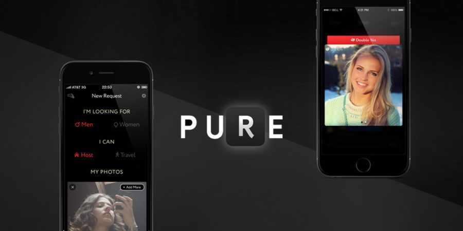 Приложение для знакомств Pure