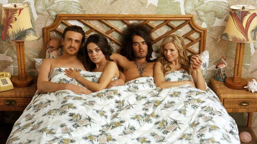 две пары в постели