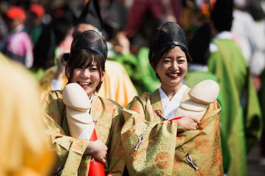 праздник большого члена в японии
