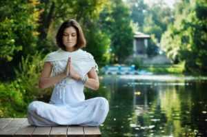 Медитировать на природе