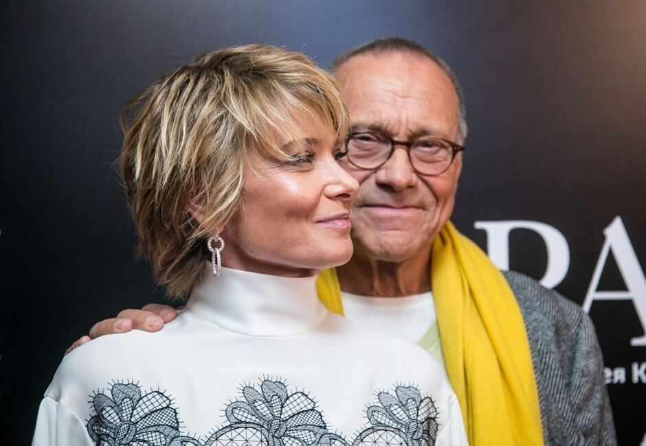 Кончаловский и жена