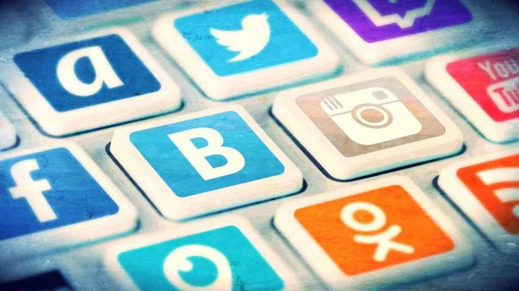 Общение через соцсети