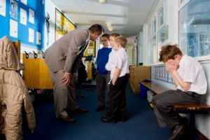 Помощь школы