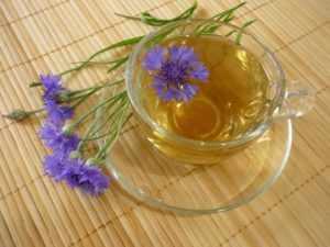 Отвар коры дуба или цветков василька