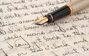 Поздравить бумажным письмом