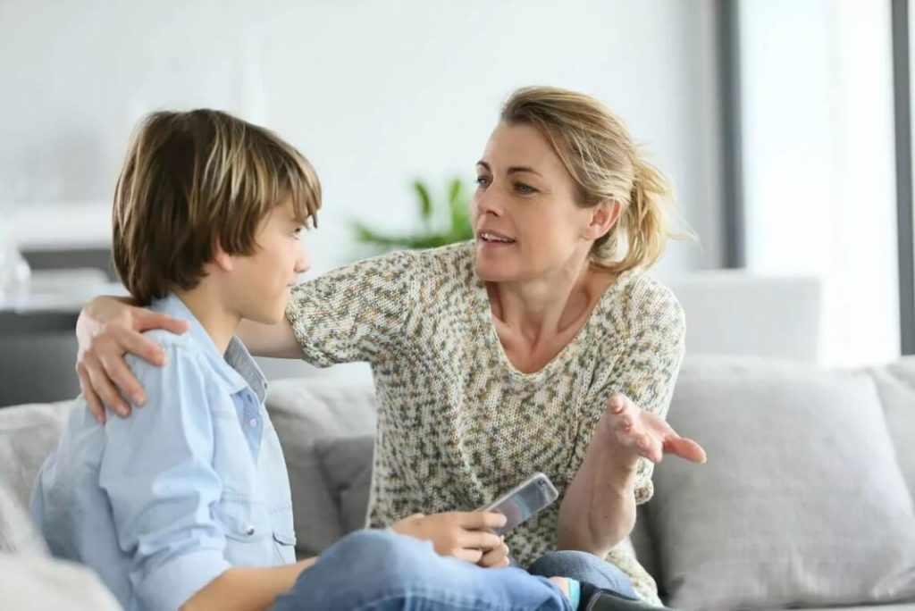 Беседа с родителями