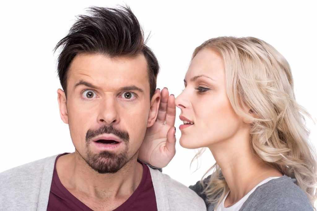 Шептать на ухо мужчине