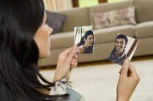 Разорвать фото с любимым