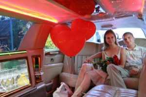 Влюбленные в лимузине