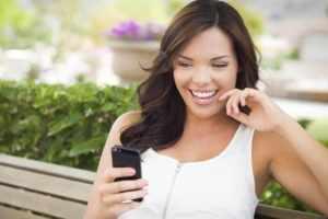 Общаться по смс