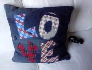 Подушка, сделанная своими руками