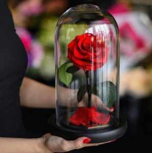 Цветок в колбе