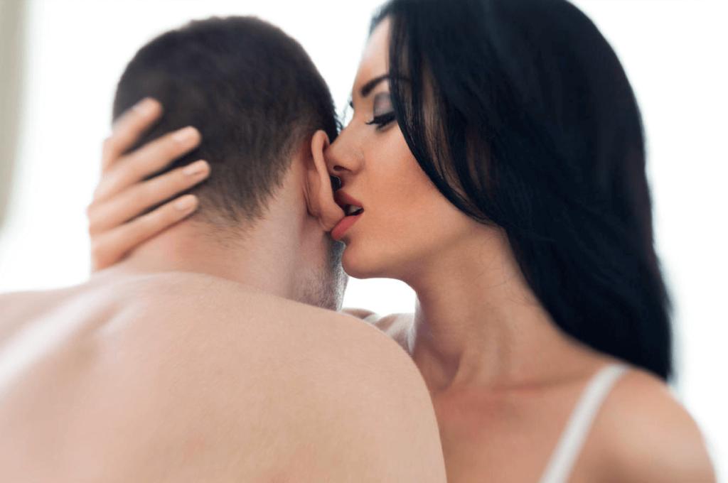 Эротические точки для поцелуев