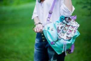 Подарить девушке рюкзак