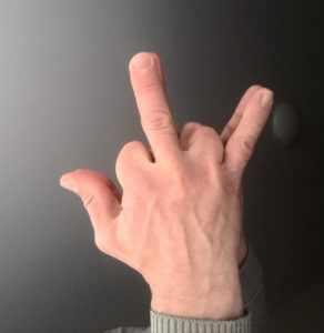 Техника трех пальцев