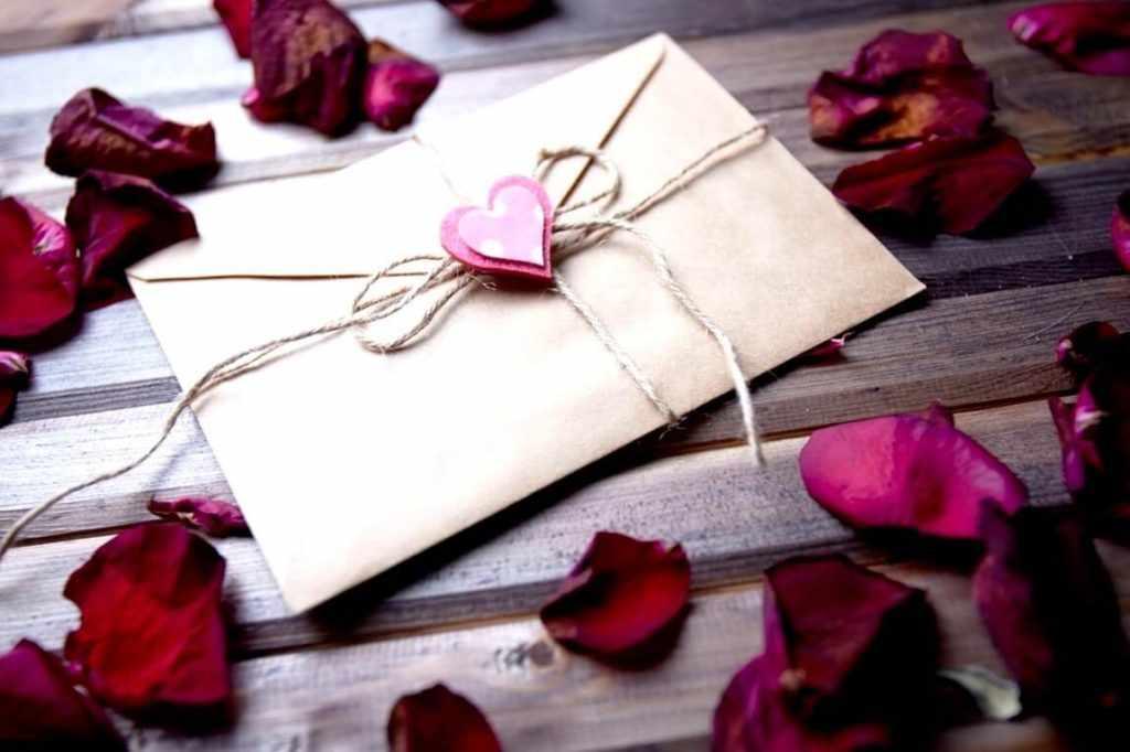 Романтика письма в конверте