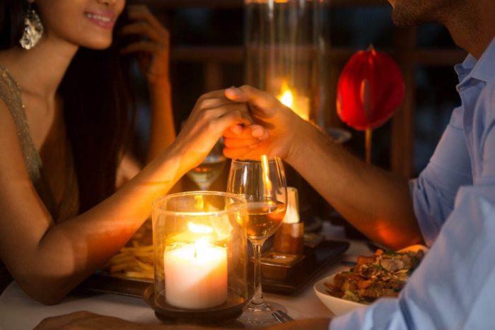 Ужин при свечах для любовника