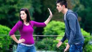 У парня нет желания разрывать отношения