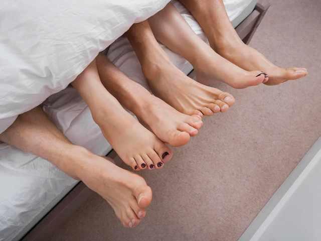 Трое в постели